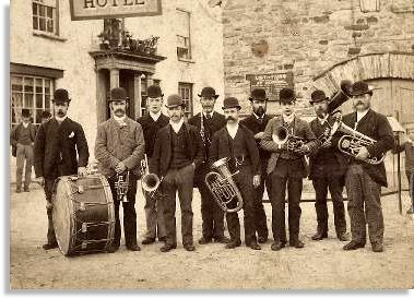 Brass Band, Rhayader
