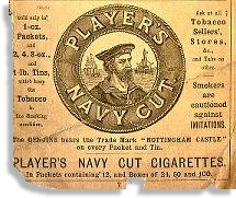 Player's cigarettes