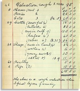 Stock valuation, Xmas 1895