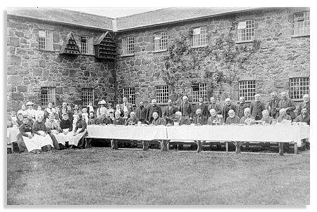 Celebratory Tea at Llanfyllin Workhouse