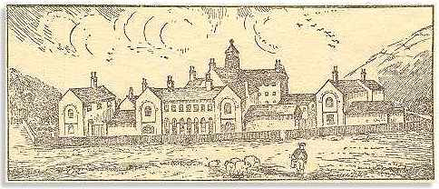 Llanfyllin Workhouse in 1907