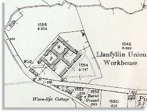 Llanfyllin Workhouse Plan