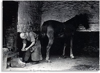 Blacksmith in Radnorshire